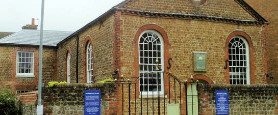 We are an independent evangelical and reformed church in Chichester, West Sussex